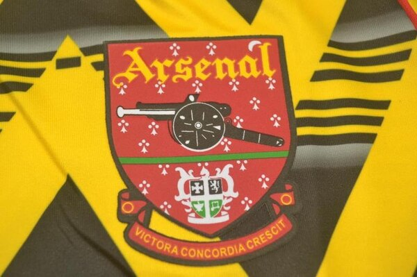 Ретро футболка Арсенал 1991/93